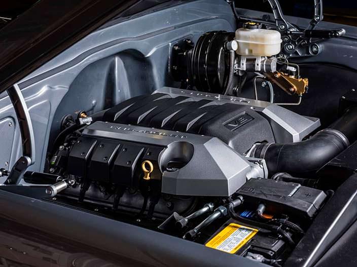 Двигатель LS3 V8 мощностью 430 л.с. от Ringbrothers