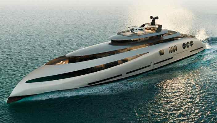 Ricky Smith Designs представил 80-метровую суперъяхту Epoch