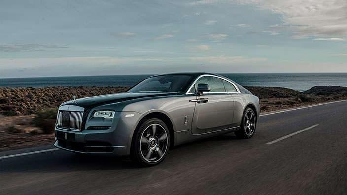 Rolls-Royce Wraith - истинный призрак дорог