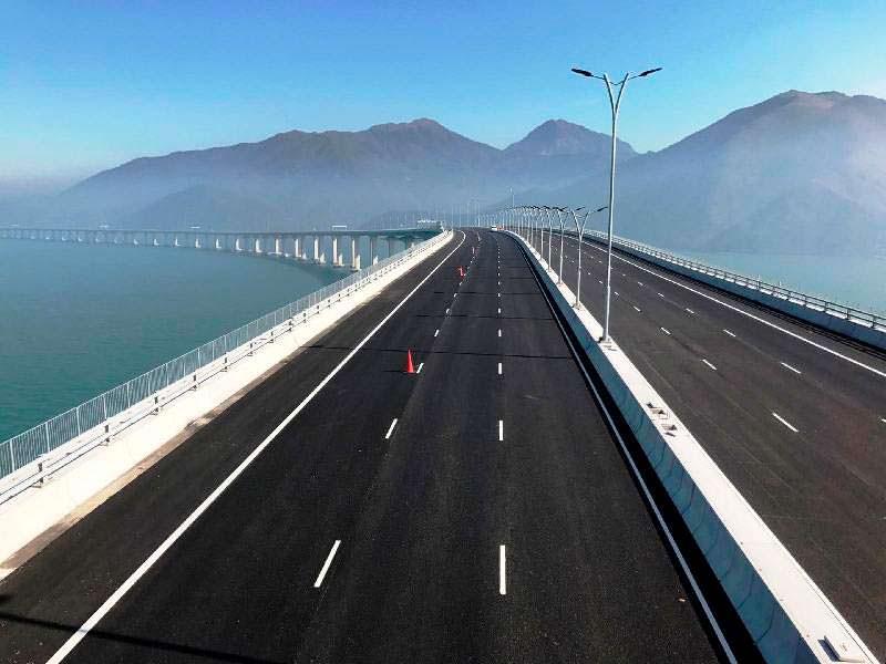 Самый длинный морской мост в мире HongKong-Zhuhai-Macao Bridge