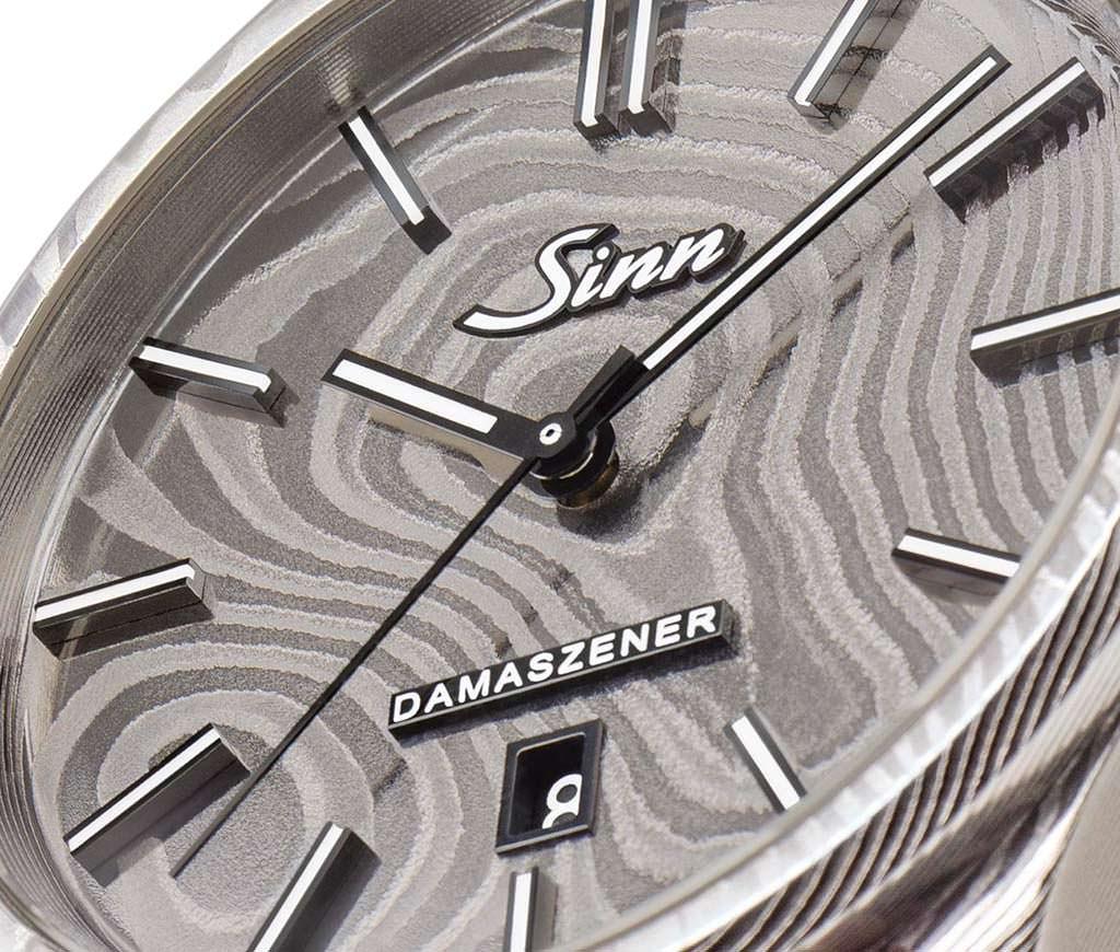 Sinn 1800 Damaszener: немецкие часы из дамасской стали