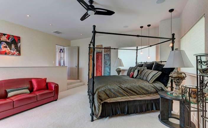 Королевский дизайн спальни