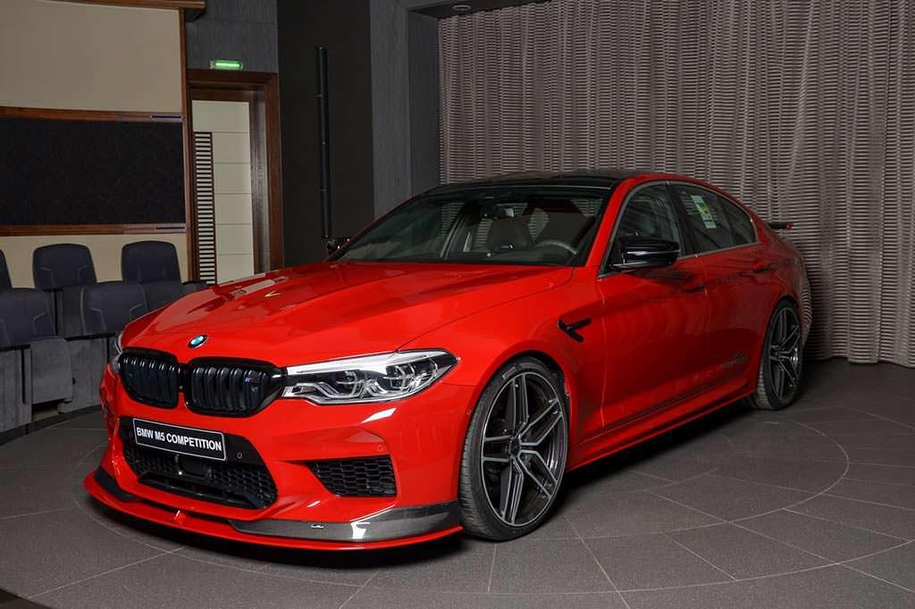 Тюнингованная BMW M5 Competition от AC Schnitzer