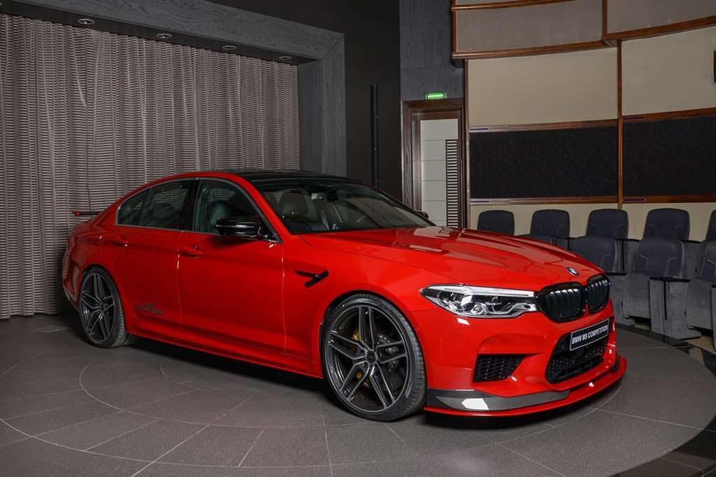 Новая BMW M5 Competition. Тюнинг AC Schnitzer