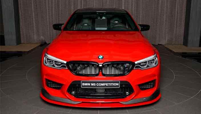 Первый тюнинг BMW M5 Competition от AC Schnitzer | фото