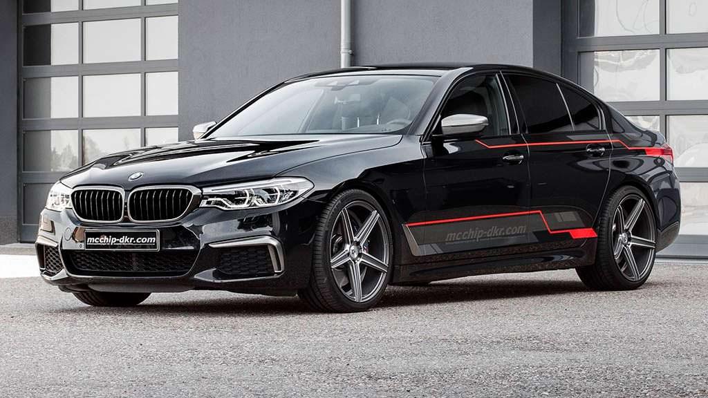 Монстр-дизель BMW M550d xDrive от Mcchip-DKR