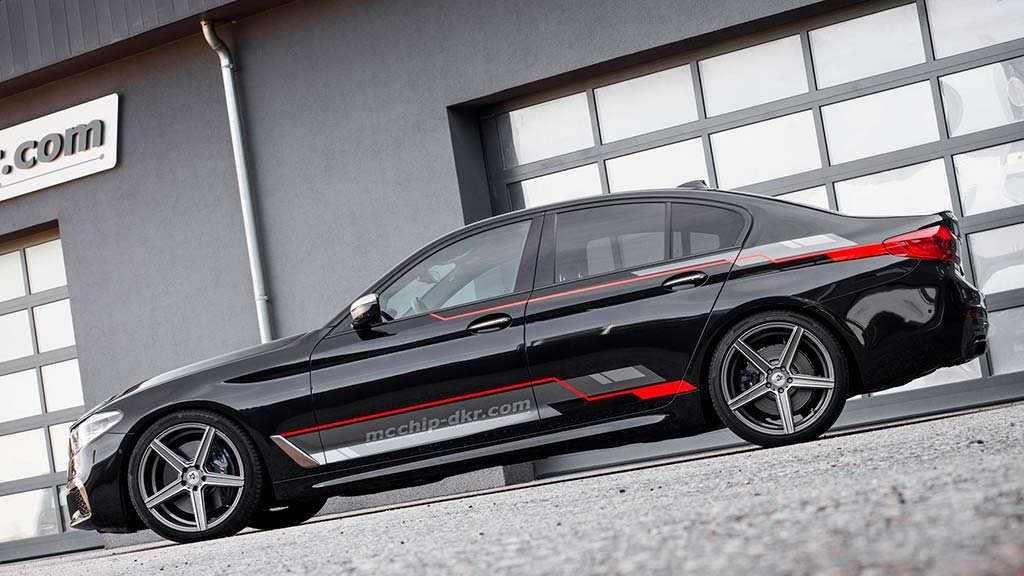 Дизельный седан BMW M550d xDrive. Тюнинг от Mcchip-DKR