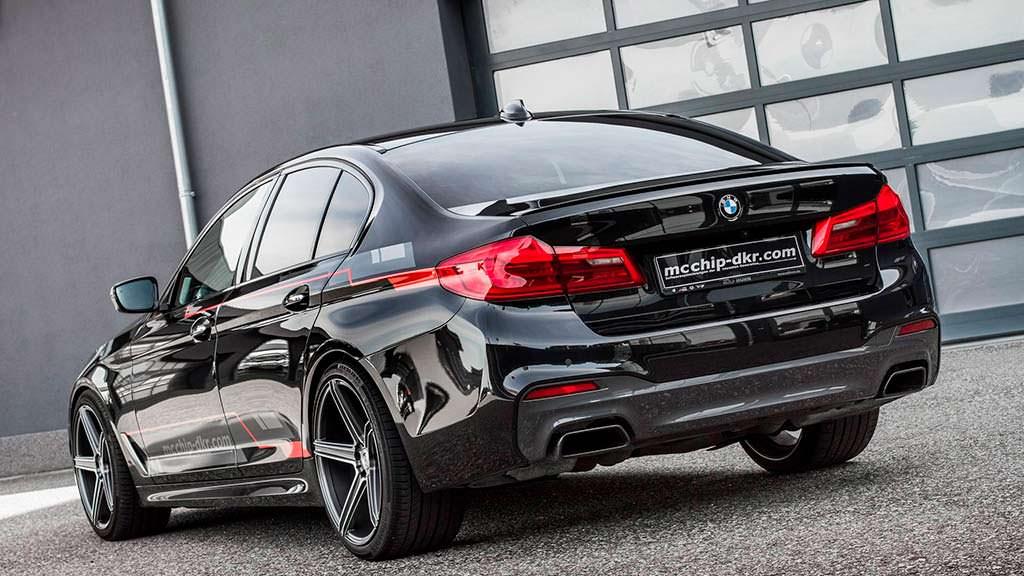 BMW M550d xDrive. Тюнинг от Mcchip-DKR