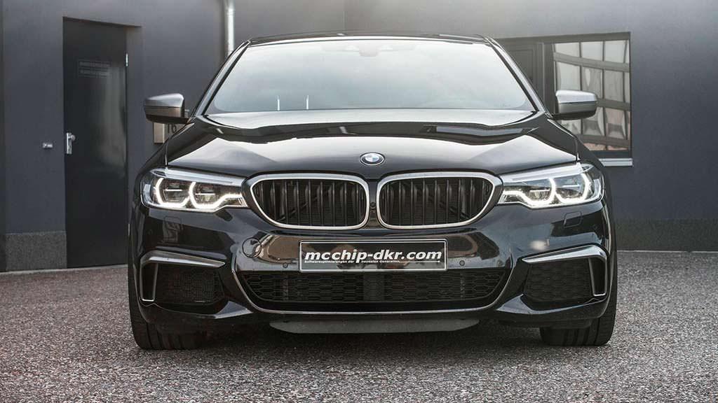 Мощный тюнинг BMW M550d xDrive от Mcchip-DKR