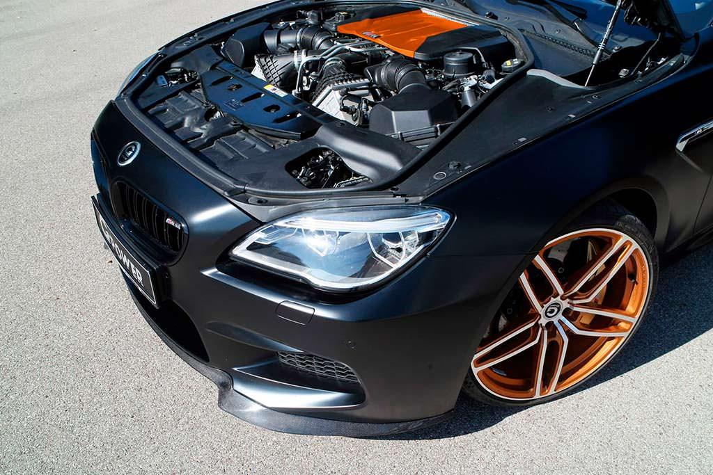 Твин-турбо двигатель 4,4-литра N63 от G-Power: мощность 800 л.с.