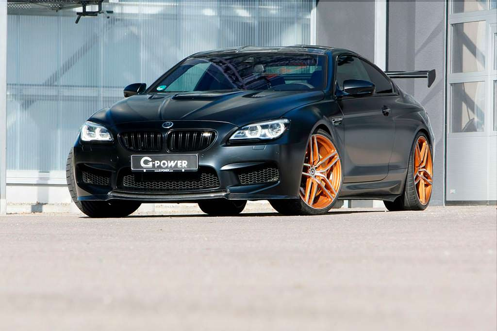 Экстрим-тюнинг BMW M6 F13 от G-Power