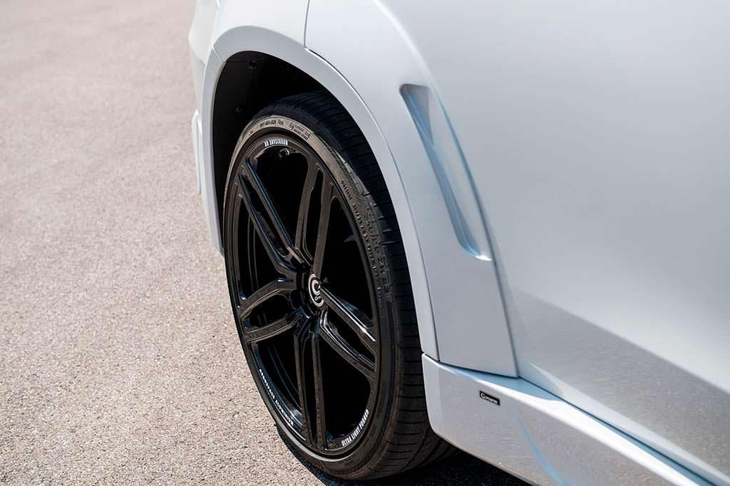 23-дюймовые колеса Hurricane RR для BMW X5 от G-Power