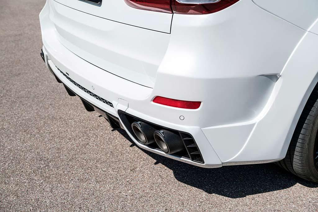 Титановая выхлопная система BMW X5 от G-Power