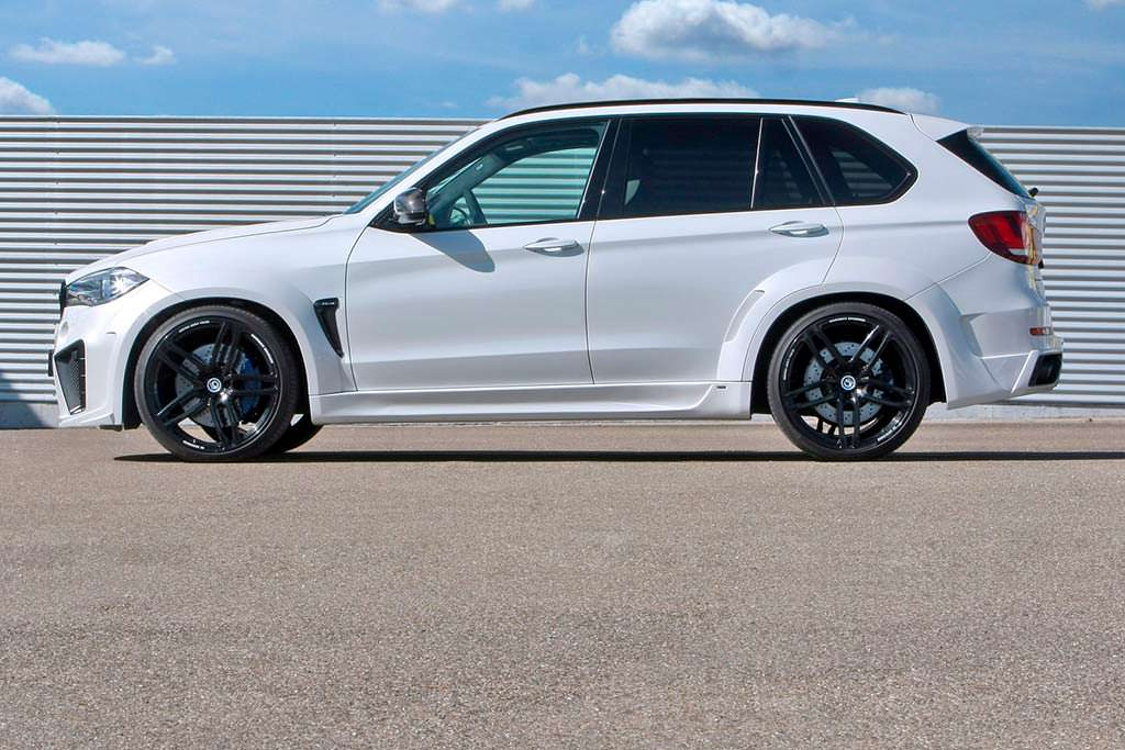 Внедорожник BMW X5 Typhoon. Тюнинг от G-Power