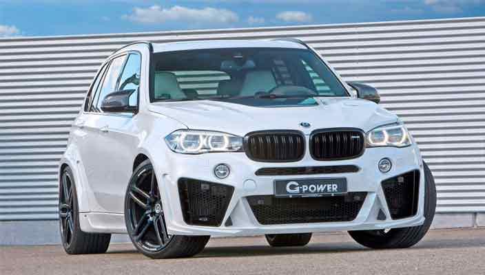 Новый тюнинг BMW X5 от G-Power | фото