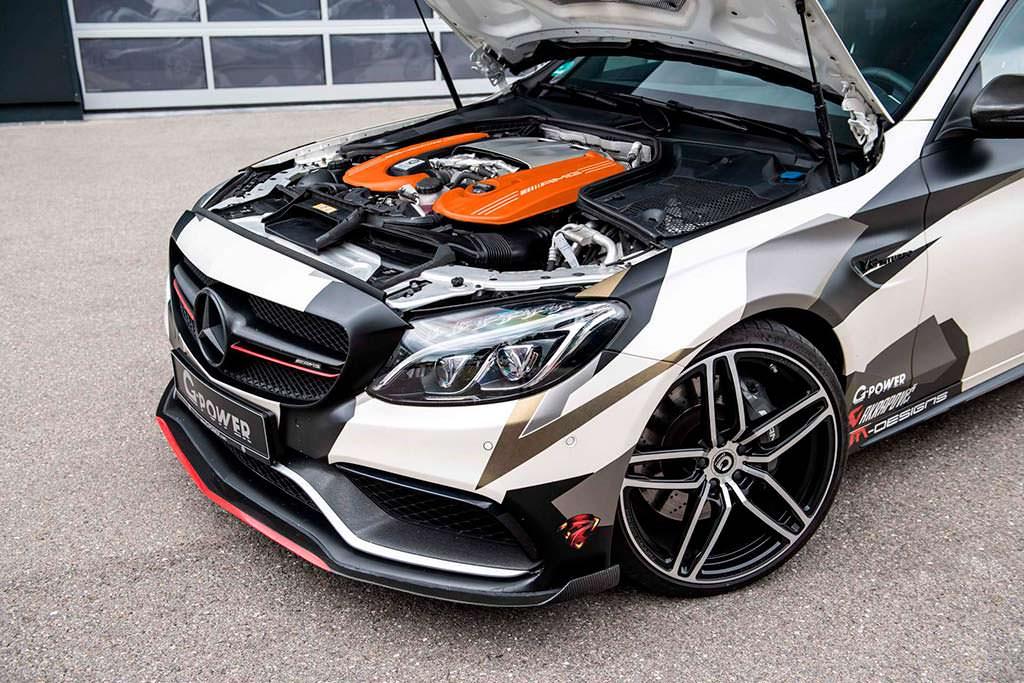Двигатель M177 4,0-литра V8. Мощность 789 л.с. Тюнинг G-Power