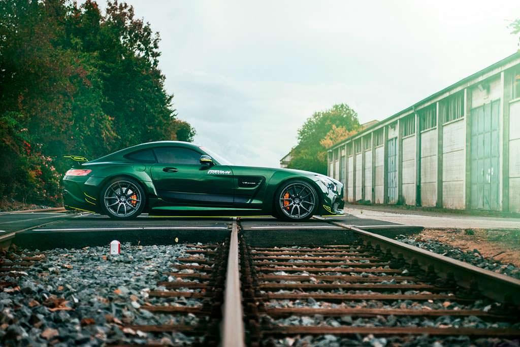 Суперкар Mercedes-AMG GT S. Тюнинг Fostla