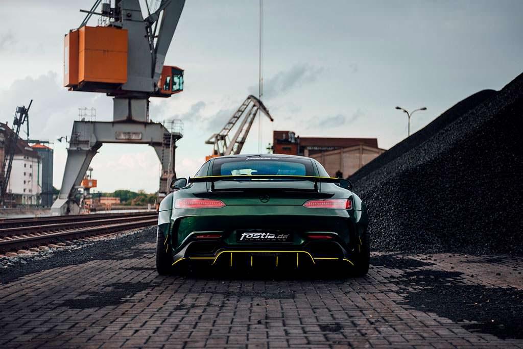 Немецкий тюнинг Mercedes-AMG GT S от Fostla
