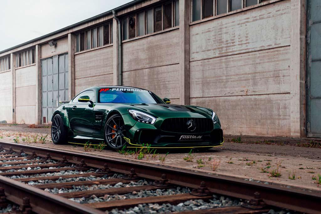 Тюнинг Mercedes-AMG GT S от Fostla. Мощность 650 л.с.