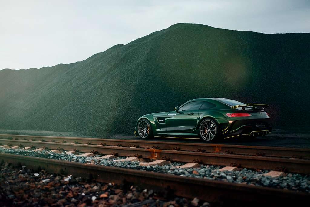 Тюнингованный Mercedes-AMG GT S от Fostla