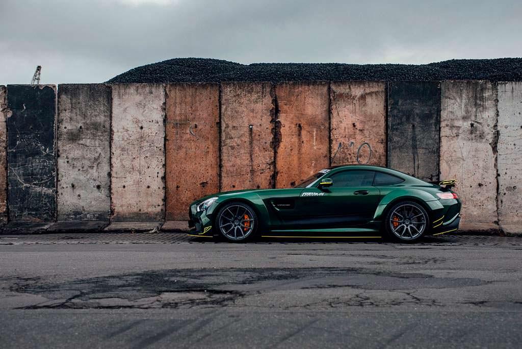 Суперкар Mercedes-AMG GT S от Fostla
