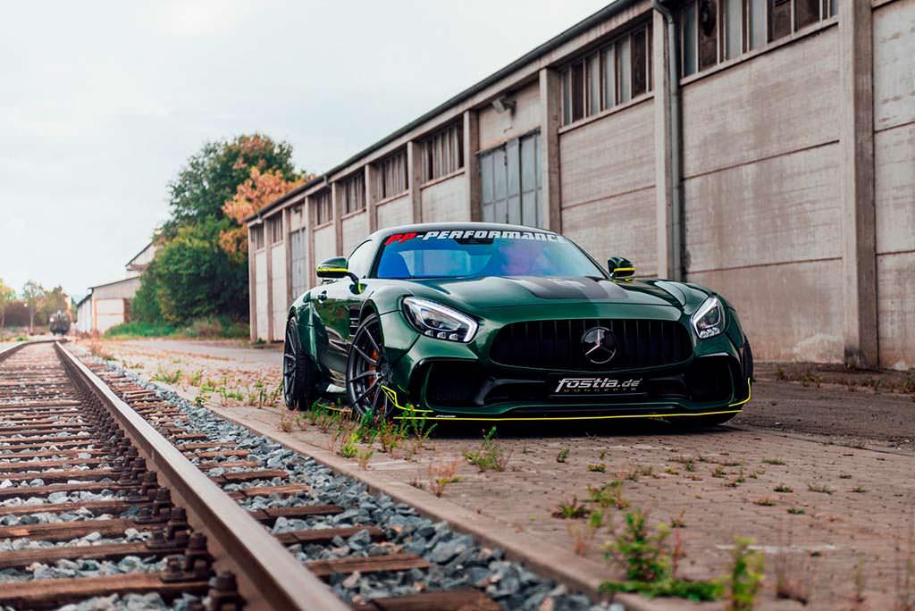 Новый Mercedes-AMG GT S от Fostla