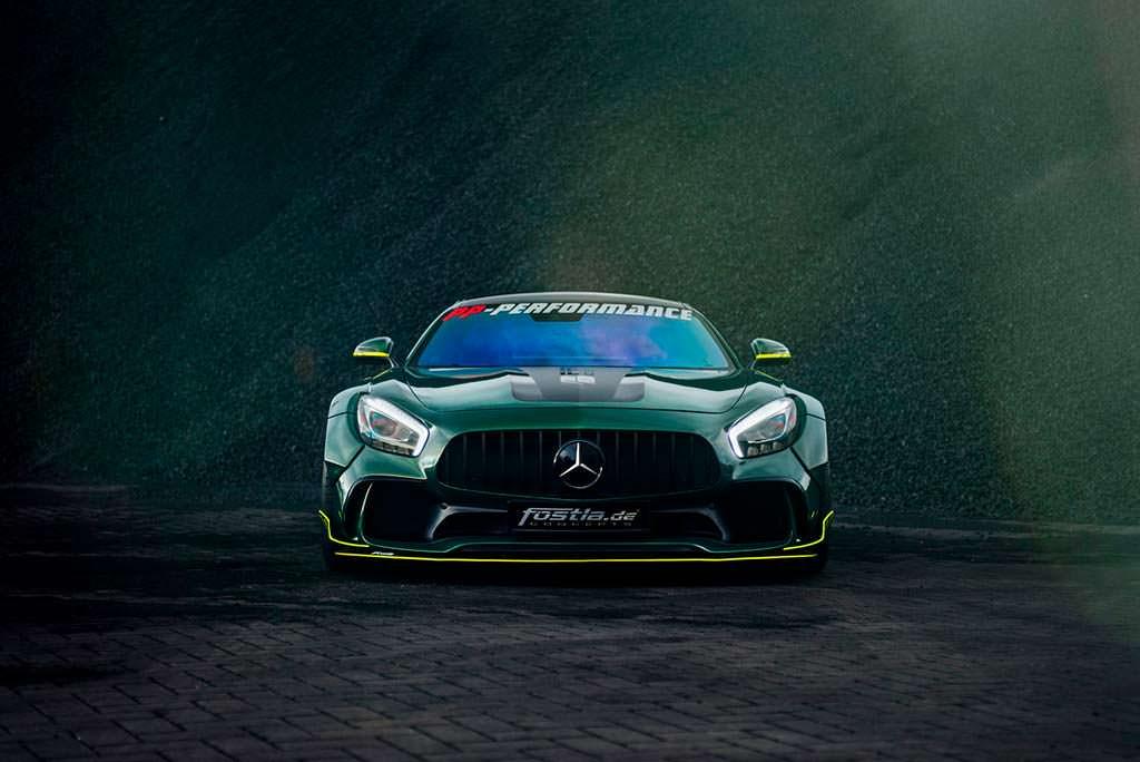 Новый Mercedes-AMG GT S. Тюнинг от Fostla