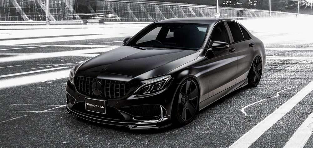 Седан Mercedes-Benz C-Class. Тюнинг WALD International