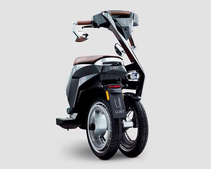 Складной электрический скутер UJET. Цена от €8 500
