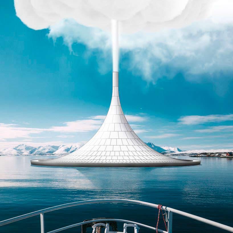 Вулканические башни PARQ - гигантские генераторы облаков
