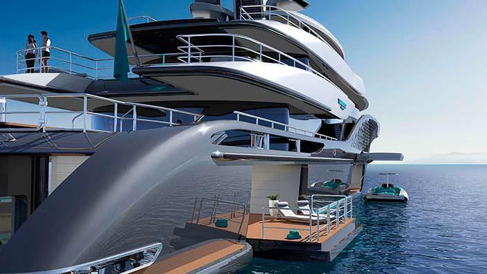Мегаяхта Quantum. Концепт Turquoise Yachts