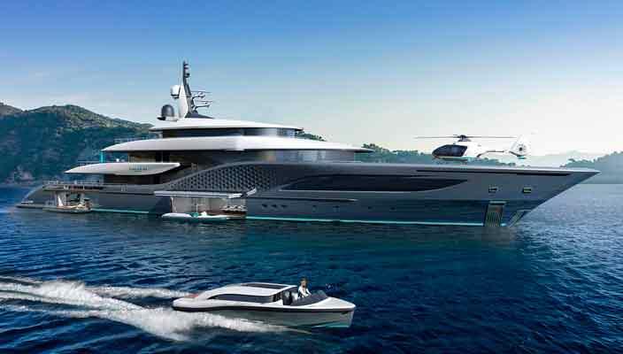 77-метровая яхта Quantum - новинка Turquoise Yachts | фото