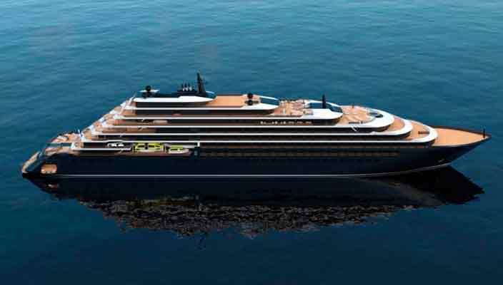 Ritz-Carlton готовит 190-метровую яхту для элитных круизов
