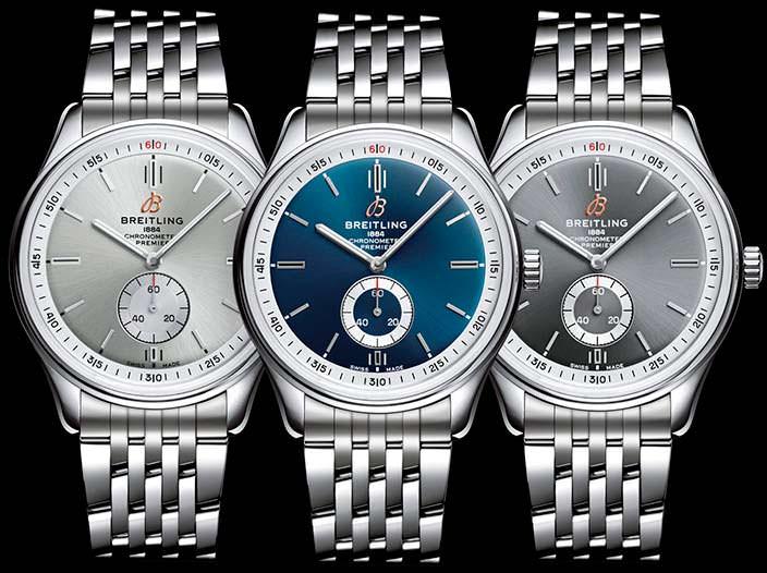 Часы в винтажном стиле Breitling Premier Automatic 40