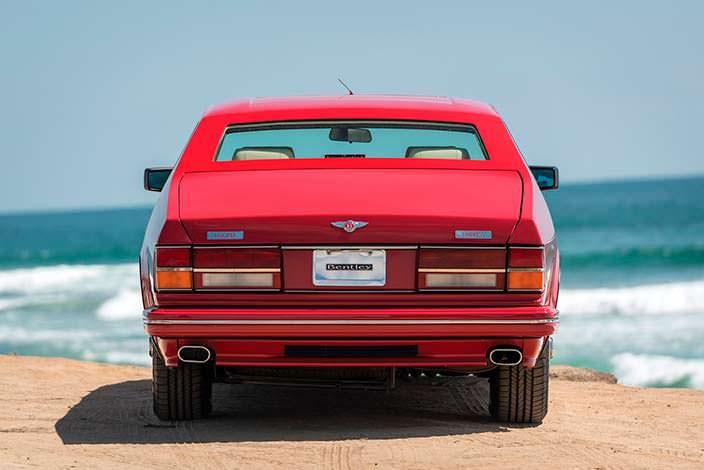 Bentley Turbo RL Empress II Coupe 1991 года в идеальном состоянии