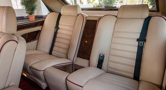 Кожаный салон Bentley Turbo RL Empress II Coupe 1991 года