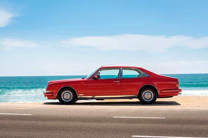 Коллекционный Bentley Turbo RL Empress II Coupe 1991 года