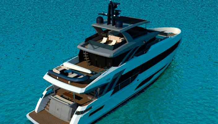Bering Yachts построит 32-метровую яхту Bering 106 | фото