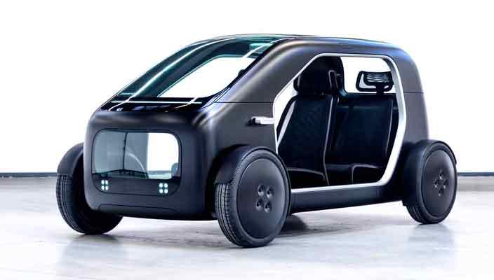 Biomega представила компактный электромобиль для города SIN