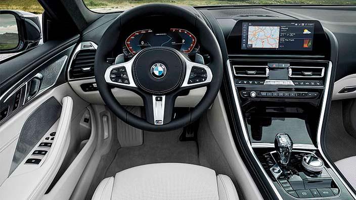 Фото внутри BMW 8 Series Convertible