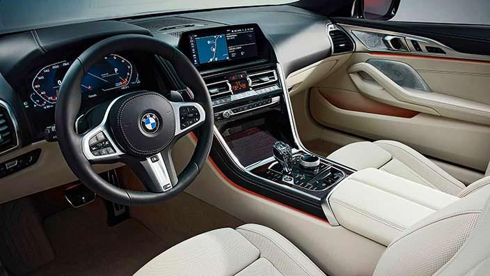 Интерьер BMW 8 Series Convertible