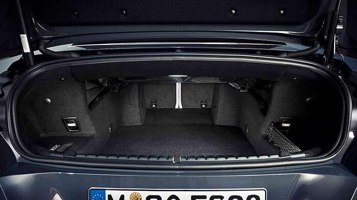 Багажник кабриолета BMW 8 Series Convertible