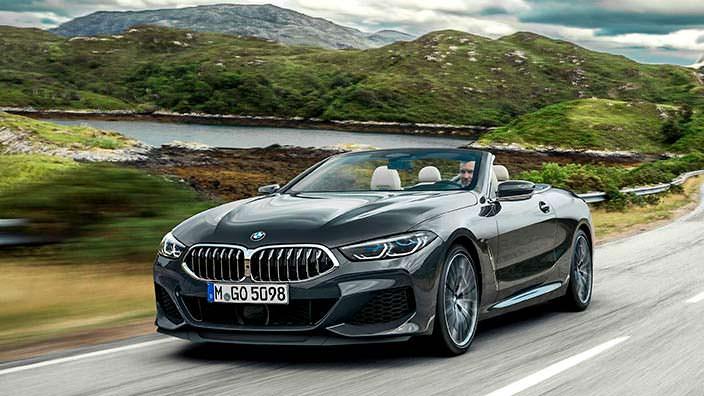 Новая BMW 8 Series Convertible