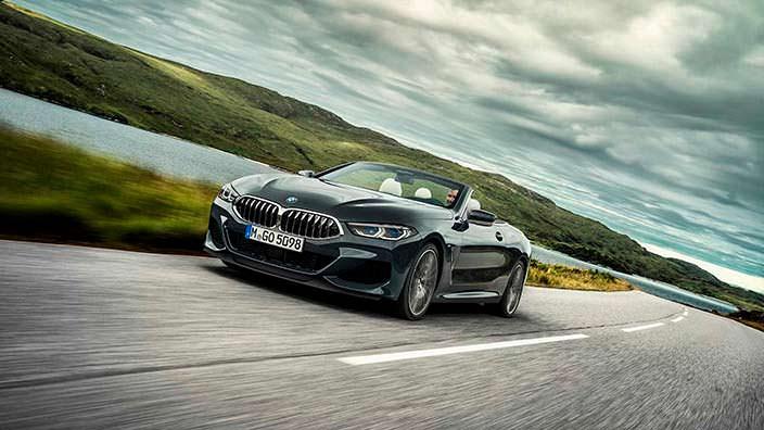 Новая BMW 8 Series Convertible 2019