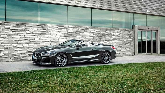 Новая BMW 8 Series Convertible G14