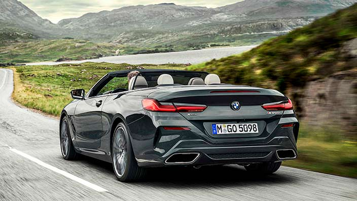 BMW 8 Series Convertible 2019
