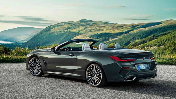 Родстер BMW 8 Series Convertible 2019