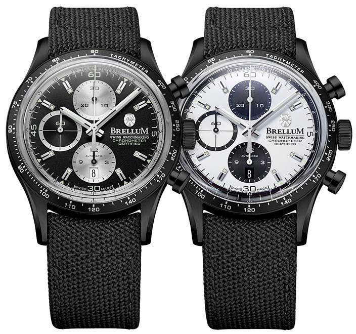 Спортивный хронометр Brellum Pandial DLC Chronometer