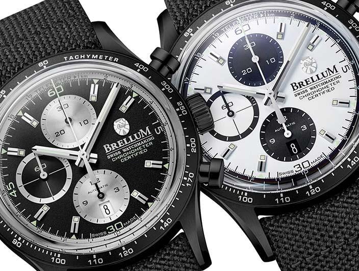Швейцарские часы Brellum Pandial DLC Chronometer