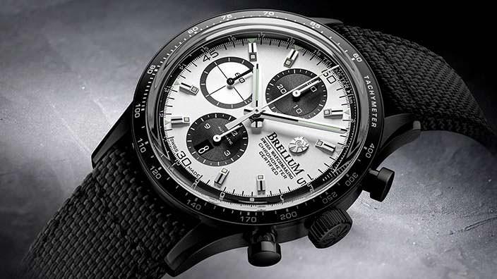 Швейцарский хронометр Brellum Pandial DLC Chronometer